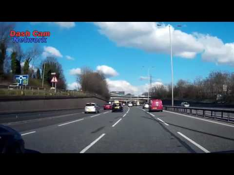 Hit and Run Caught On Dash Cam - M60 JN 17/18