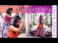 Din Shagna Da -Dance Cover | Phillauri | Indian Wedding Dance | Kamanie London & Yashmin's World