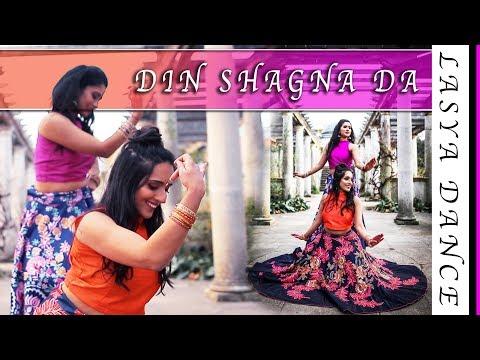 Din Shagna Da -Dance Cover | Phillauri | Indian Wedding Dance | Kamanie London & Yashmin's World