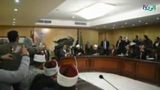 بالفيديو.. محافظ الفيوم ووزير الأوقاف يناقشان نشر تعاليم الإسلام