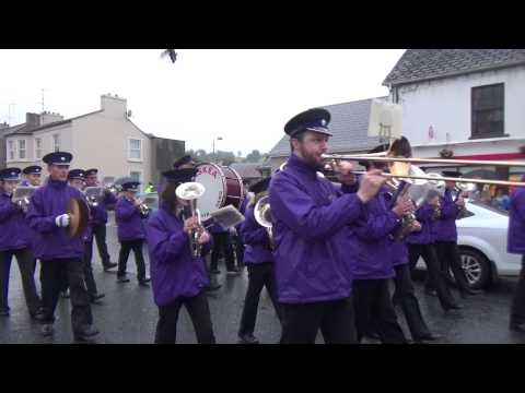Lisnaskea Silver Band @ Brookeborough District Parade 2015