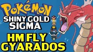 Pokémon Shiny Gold Sigma (Detonado - Parte 13) - Gyarados Vermelho e HM Fly!