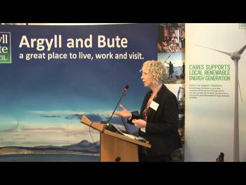 Audrey Martin - Argyll & Bute Council perspective