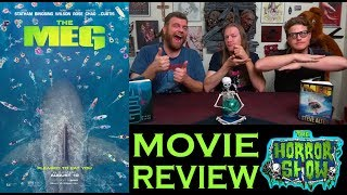 """The Meg"" 2018 Jason Statham Giant Shark Movie Review - The Horror Show"