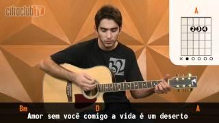 Cor de Ouro - Gusttavo Lima (aula de violão simplificada)