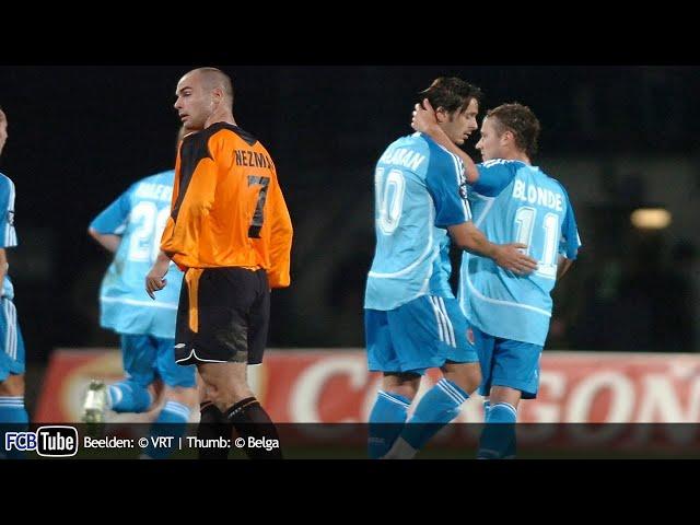 2006-2007 - UEFA-Cup - 03. 3de Voorronde - MFK Ruzomberok - Club Brugge 0-1