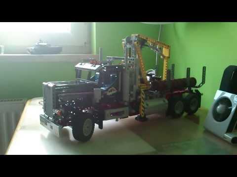 LEGO Technic 9397 Logging Truck/Ciężarówka Do Transportu Drewna