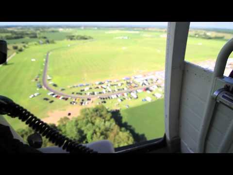 Kathleen and Andrew Helicopter Ride - Muncie Indiana. AMA IRCHA 2012 Jamboree