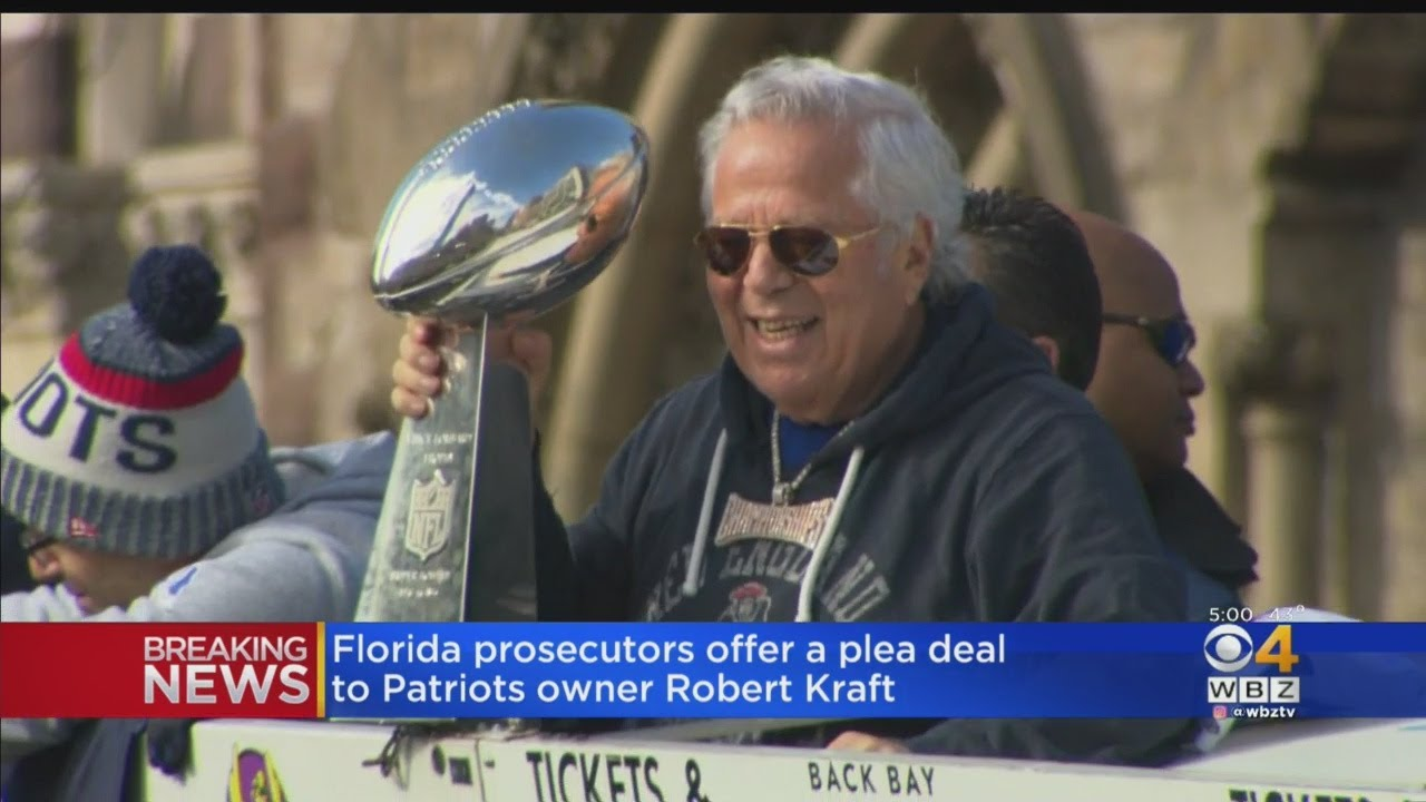 Patriots Owner Robert Kraft Offered a Deal That Would Drop Charges