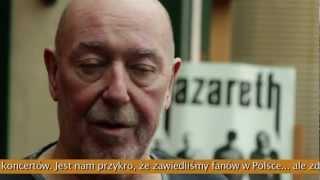 Nazareth zagra w maju 2012- wywiad z Pete Agnew