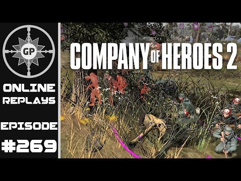 Company of Heroes 2 Online Replays #269 - Ambush AT FTW!!!