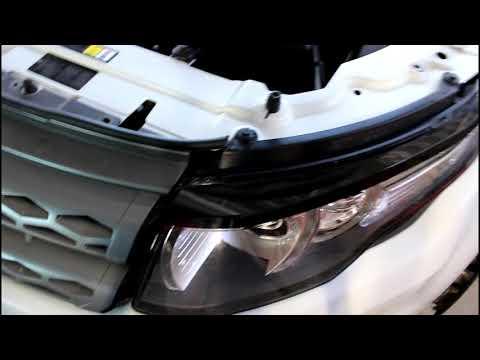 Замена радиатора охлаждения на Range Rover Evoque 2,2 Ленд Ровер Эвок 2011 года 1часть