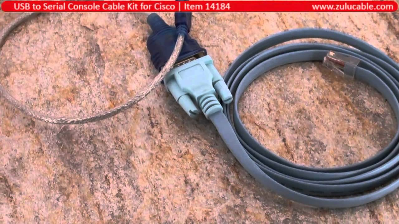 cisco usb console cable drivers