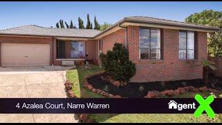 AgentX Real Estate Berwick Presents - 4 Azalea Court Narre Warren Property Tour