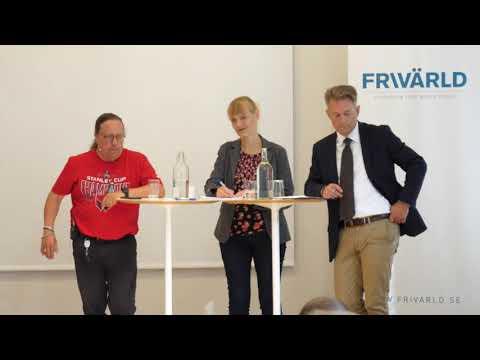 Diskussion om 5G och Huawei