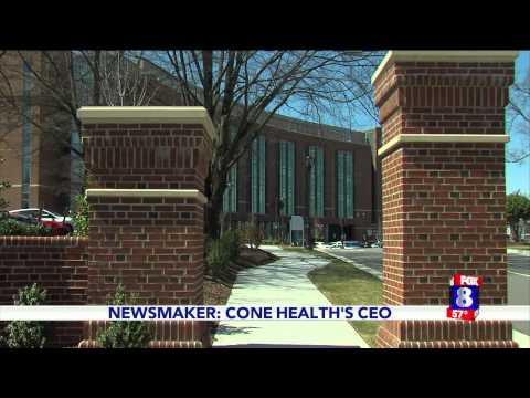 WGHP NEWSMAKER: TIM RICE, CONE HEALTH CEO