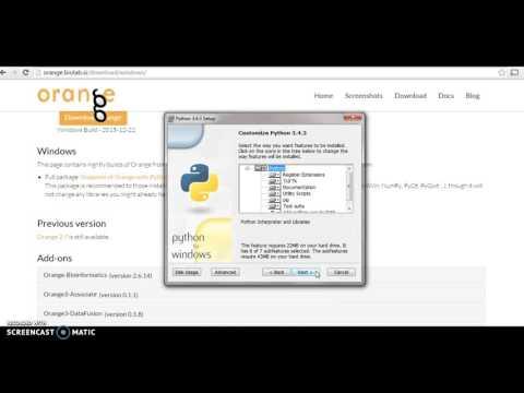 Orange Software Installation - YT