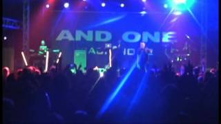 And One - Recover you - Live in Leipzig 2011