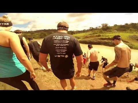 Team BackYardWarrior at the 2014 Reebok Spartan race Sydney