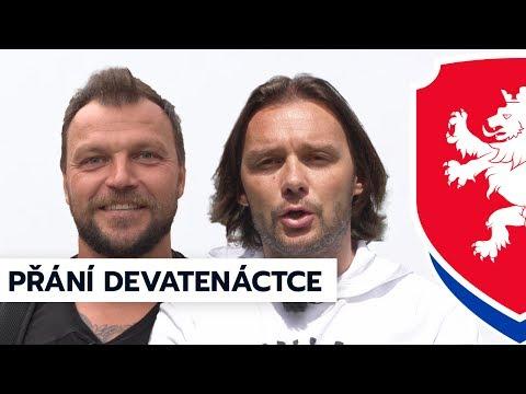 Přání devatenáctce před semifinále od Jankulovského a Ujfalušiho