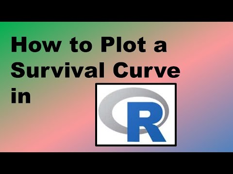 How to Plot a Survival Curve in R