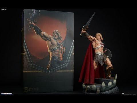 SIDESHOW - HE-MAN - MASTERS OF THE UNIVERSE - STATUE EXCLUSIVE VERSION- REVIEW FRANCAISE FRENCH
