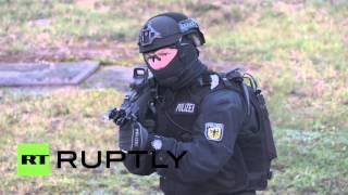 Germany: New anti-terror police unit conducts drills near Berlin
