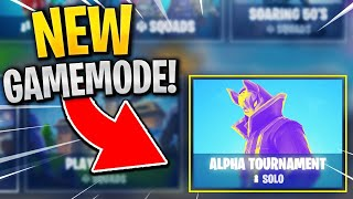 Tournament Gameplay in Fortnite! *NEW* Alpha Tournament Gameplay!