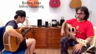 Master Bulerias Compas /Be at your best in tone, posture and meter/Ruben Diaz flamenco guitar lesson