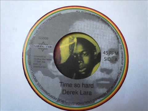 """DEREK LARA - Time so hard (Guiding star)  7"""""""