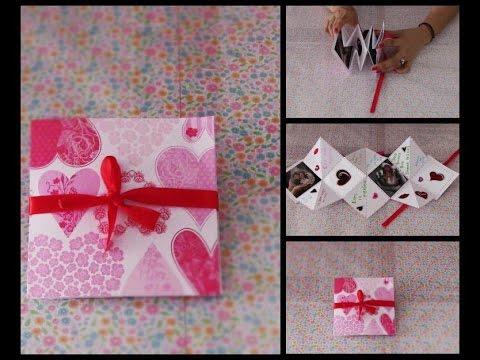 Tarjeta Original Y Facil De Hacer Para Regalar Este Dia De San Valentin 14 De Febrero