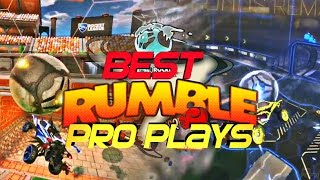 BEST ROCKET LEAGUE RUMBLE PRO PLAYS - RLCS MAYHEM