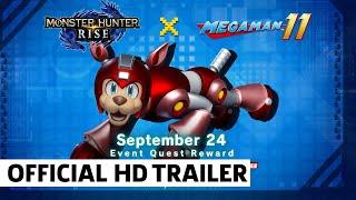 Monster Hunter Rise x Mega Man Trailer