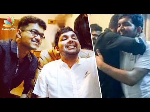 Actor Vijay Met Nasser's son | Latest Tamil News | Faisal recovers following road accident |