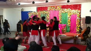 AD Gang Dhamaka Performance (Tikatuli) @ Rupak-Tanima Gaye Holud