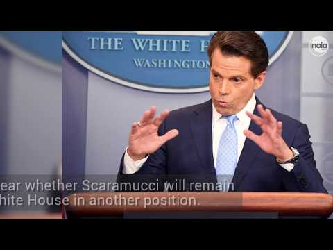 Scaramucci's 10-day tenure ends as Kelly seeks order in Trump's White House