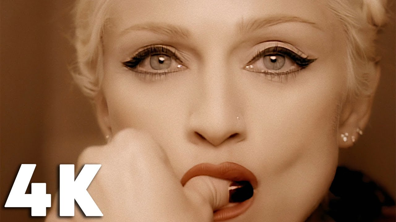 Bow Dow To Madonna: She's the New Face ofVersace