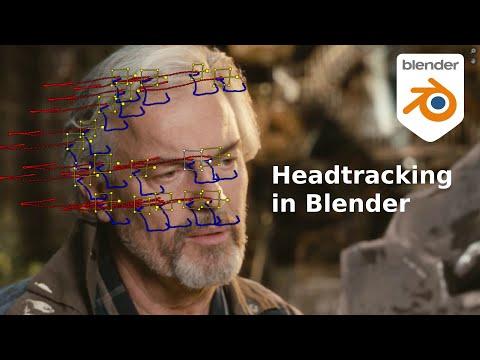 Headtracking With Blender