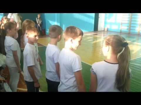 школьные соревнования, школа-лицей №4. г. Казатин