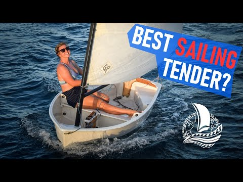 The BOW FELL OFF, our sailing dinghy tender - The best dinghy for cruising? – Ep.83