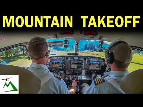 EPIC Takeoff & Landing at a Sloped Mountain Runway | Bush Pilot Flight Vlog