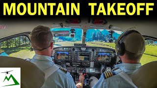 EPIC Takeoff & Landing at a Sloped Mountain Runway | Bush Pilot Flight Vlog
