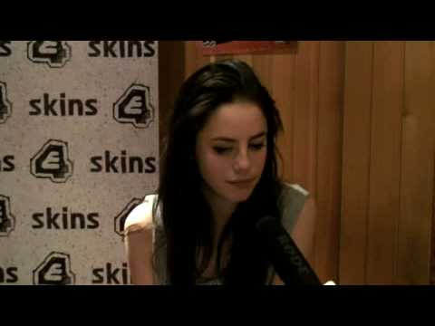 E4 Skins - Series 3 - Interview - Kaya Scodelario