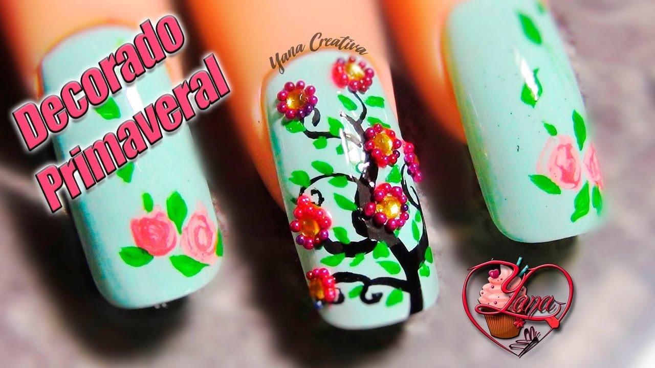 Asombroso Uñas Cebra De Las Rosas Componente - Ideas de Pintar de ...
