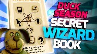 SECRET WIZARD BOOK & HIDDEN PIZZA LOCATIONS! - Duck Season VR Gameplay - VR HTC Vive Gameplay