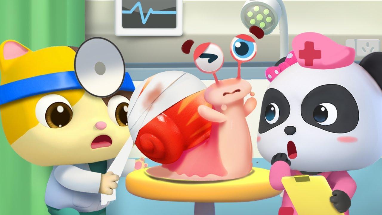 ♪かたつむり | 赤ちゃんが喜ぶ歌 | 子供の歌 | 童謡 | アニメ | 動画 | ベビーバス| BabyBus