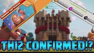 TH12 CONFIRMED?!  Klaus QUITTING Clash of Clans?!  Let
