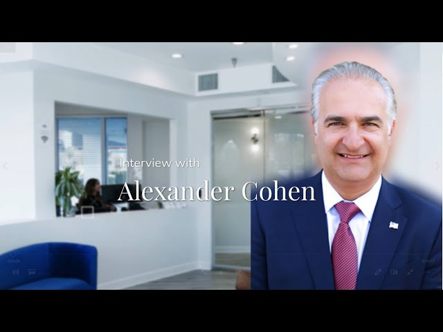 ACTS Law Interview with Partner Alex Cohen