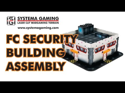 Systema Gaming FC Security Building & Roof Assembly