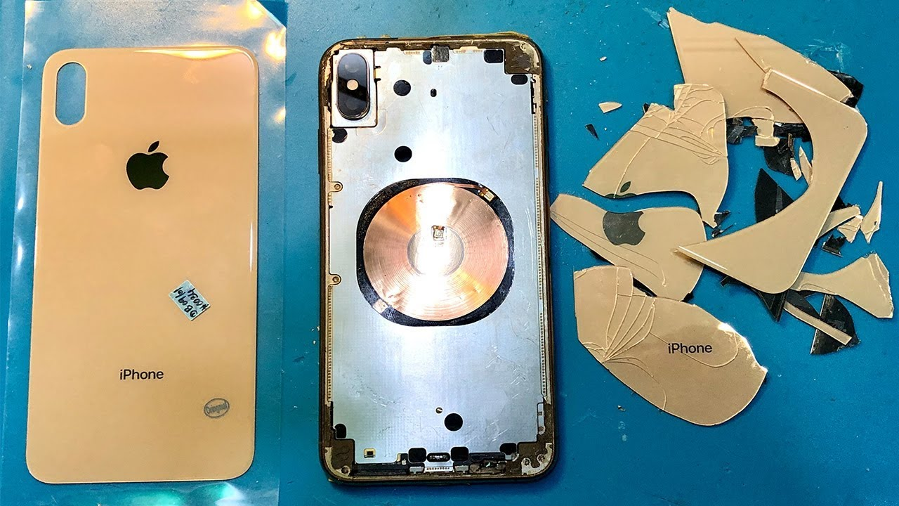 the best attitude 360bd e2300 iPhone Xs max back glass replacement